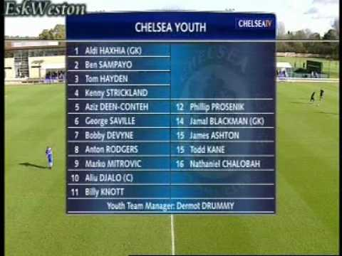 Chelsea Youth v Portsmouth Youth (H) 09/10