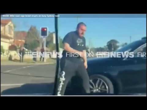 Tradies vrs Lebo Road Rage Sydney Australia
