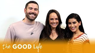 Kelly LeVeque Gives Sazan Healthy Diet Advice | The Good Life