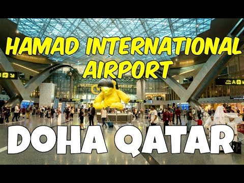 Doha Internatoinal Airport Qatar (My Favorite Airport Terminal)