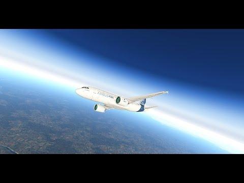 Обзорный рейс в Мирный на новом A320 NEO от JARDESIGN