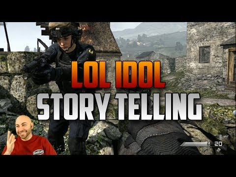 Call of Duty Storytelling - An LOL Idol Episode