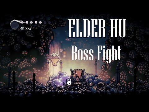 Hollow Knight [Elder Hu - The Warrior Dream Boss Fight] - Gameplay PC