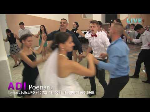 Adi Poenaru - Pe mandra cu ochii verzi Colaj Live (Dani & Alina Borsa)
