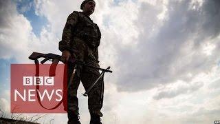 Fierce fighting as Ukraine calls vote - BBC News