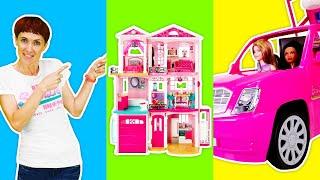 Видео для девочек - Барби и подружки выбирают новый дом