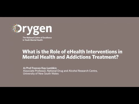 What is the Role of eHealth Interventions in Mental Health and Addictions Treatment (December 2015)