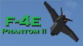 McDonnell Douglas F-4E Phantom II speed build in KSP