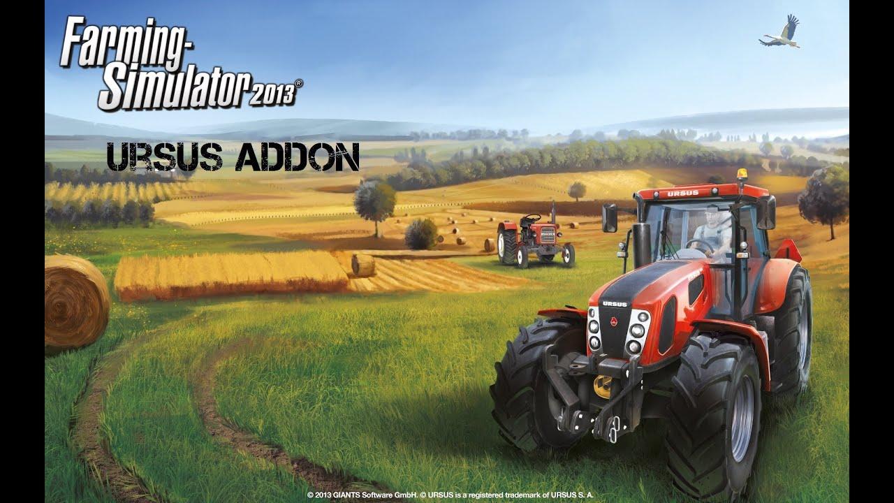 landwirtschafts simulator 2013 ursus addon