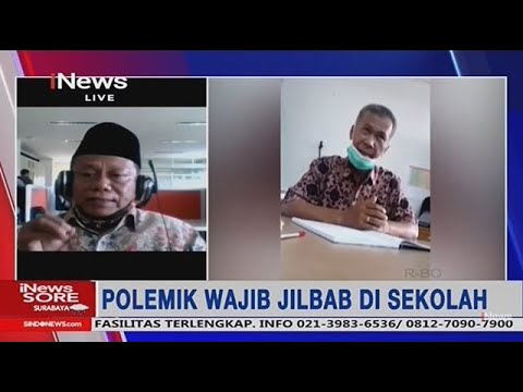 Kasus Jilbab SMK 2 Padang, Kepsek: Tak Ada Pemaksaan Siswa Nonmuslim Pakai Jilbab - iNews Sore 24/01