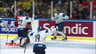 Canada v Finland SF (1-5) - 2014 IIHF World Junior Championship