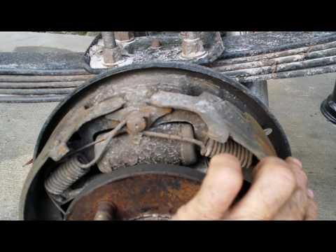 repairing bent leaf springs