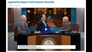 Interview with PA State Senator, Mario Scavello