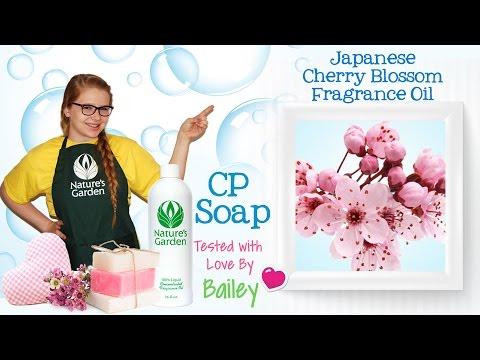 soap-testing-japanese-cherry-blossom-fragrance-oil--natures-garden
