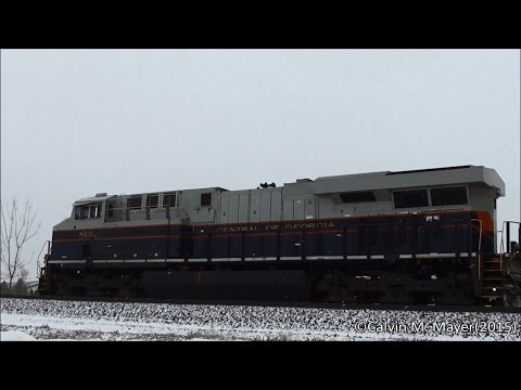 NS Freight Action Holland, OH 1-21-15