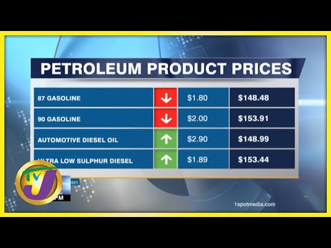 Gas Prices decline | TVJ Business Day - Sept 29 2021