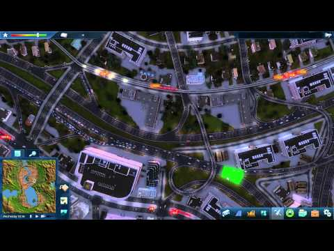 CIM2 - City 2 #15 - Underground Bus - Elevated Tram