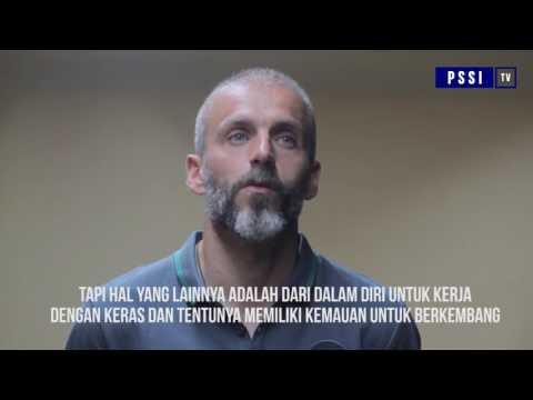 Eduardo Perez Sang Pelatih Kiper Tim Nasional Indonesia