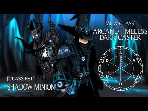 AQW Arcane/Timeless Dark Caster Overview