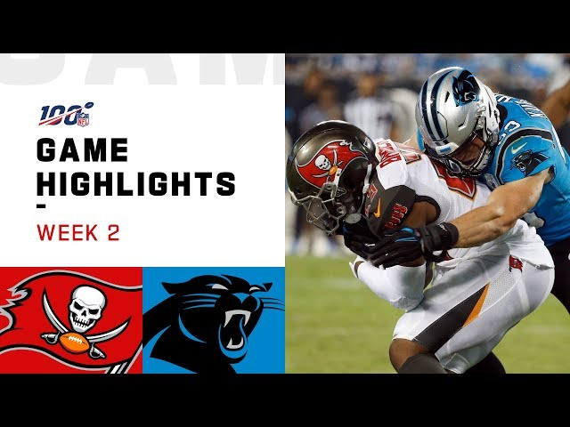 Buccaneers vs. Panthers Week 2 Highlights | NFL 2019