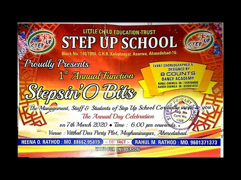 STEP UP SCHOOL 1st ANNUAL FUNCTION
