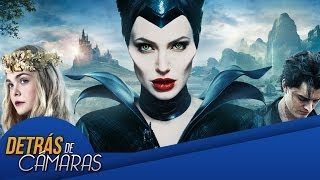 Detrás de cámaras - Maléfica - B-Roll #1 - Angelina Jolie, Elle Fanning - Disney - HD