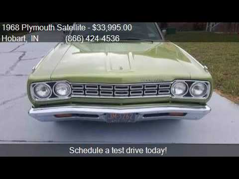 1968 Plymouth Satellite  for sale in Hobart, IN 46342 at Hag