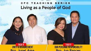Living as People of God Talk 5 \u0026 6 - September 23, 2020