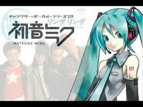 ???????? ???? - Miku Hatsune singing Linda Linda (cover of a song by The Blue Hearts).