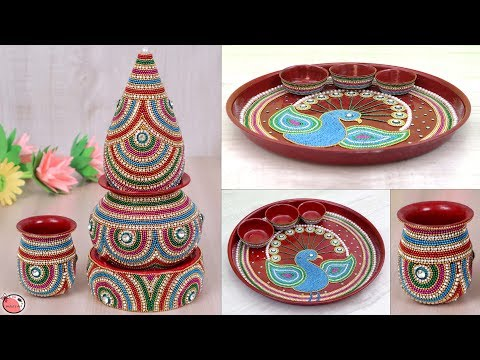 Indian Wedding Dish & Samaiyu Decoration Idea