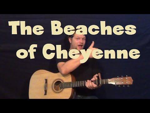 The Beaches Of Cheyenne Garth Brooks Guitar Lesson Easy Stum