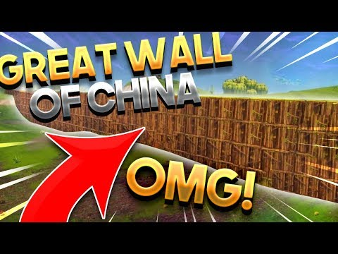 Around The World in Fortnite (ATWIF) - GREAT WALL OF CHINA! [1] - Fortnite Battle Royale