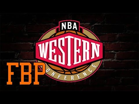 2017-18 NBA Western Conference Predictions