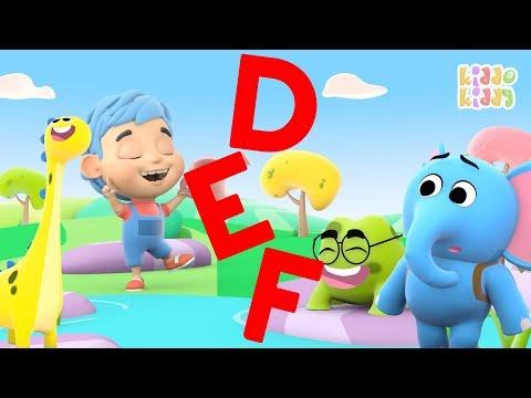 DEF Compilation | Letters | Letters Compilation | Alphabets DEF | KiddoKiddy | ABC Video