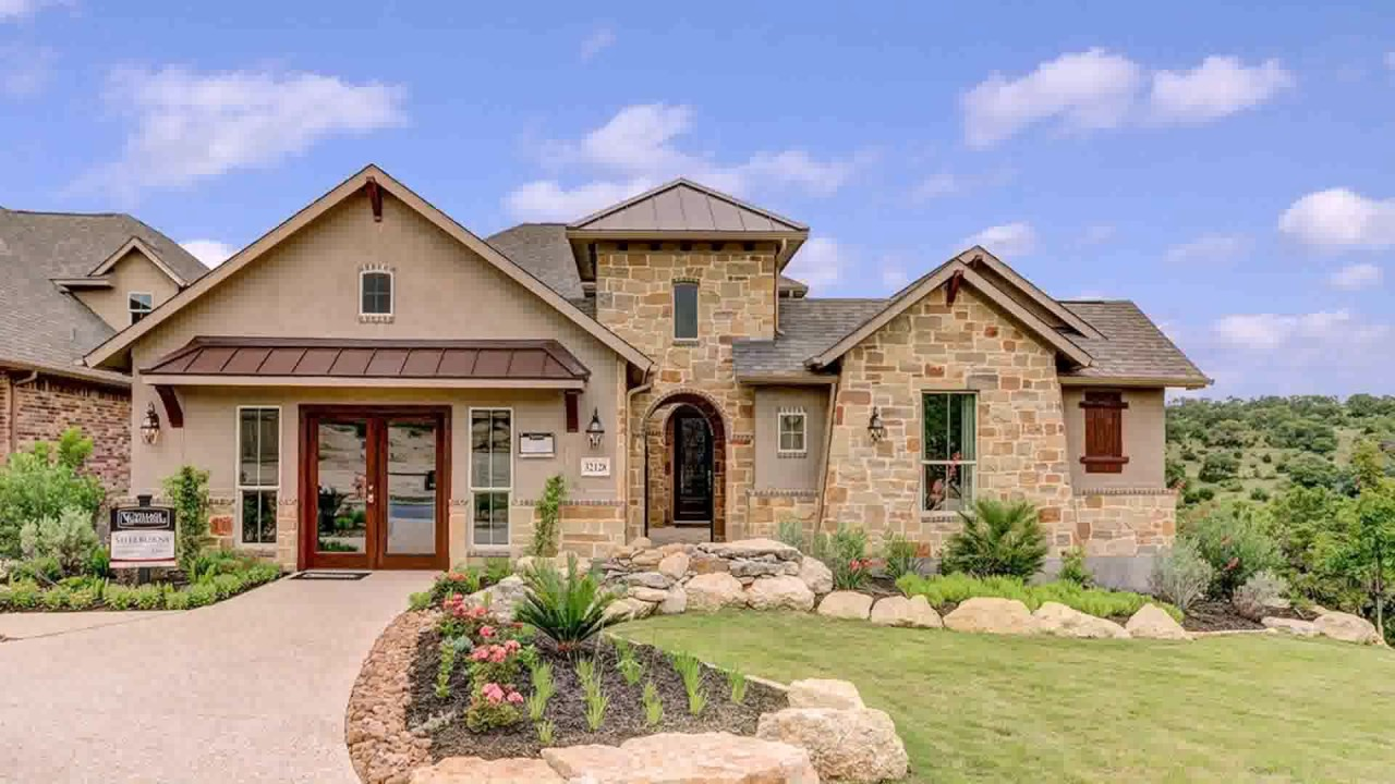 Ranch style house in texas youtube for House plans texas style ranch