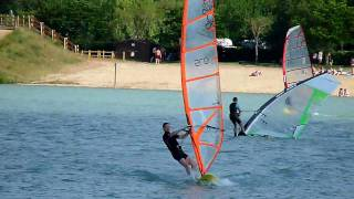 Windsurf - helicopter tack fail