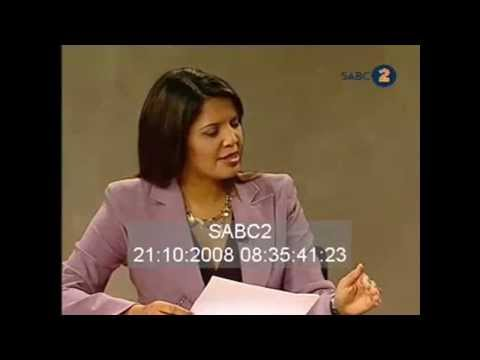 Nhlannla Nene falls off chair on TV ZAD mp4