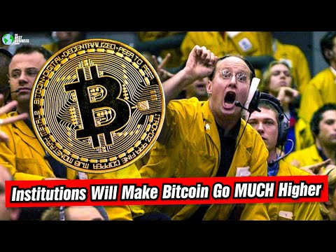 Institutions Will MOVE The Bitcoin Market!
