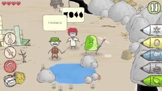 Draw A Stickman: Epic 2- Walkthrough Level 2- The Wasteland