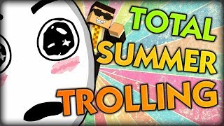 HILARIOUS MINECRAFT TOTAL TROLLING SUMMER EDITION w/ Ghost and Simon