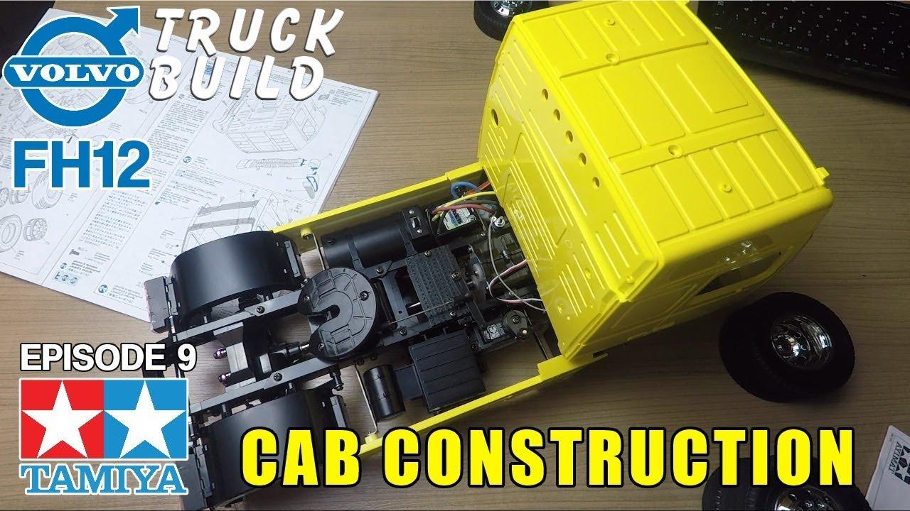TAMIYA TRUCK BUILD | Volvo FH12 Globetrotter 420 - Episode 9