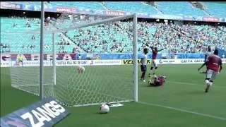 Bahia 7 x 1 Feirense - Campeonato Baiano - 8-3-2015