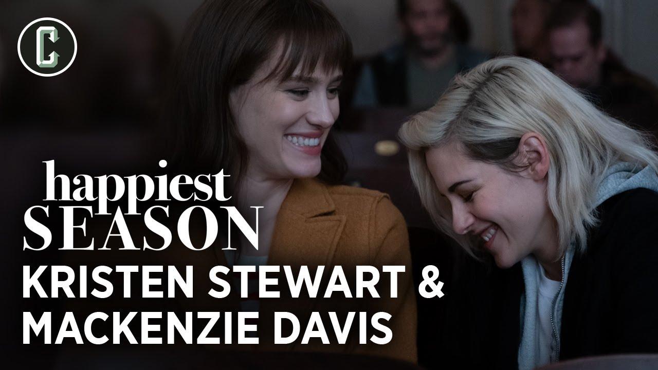 'Happiest Season': Watch Mackenzie Davis' A+ Kristen Stewart Impression