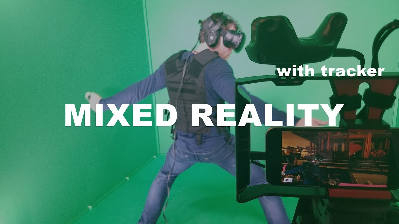 How to do mixed reality with HTC Vive tracker!