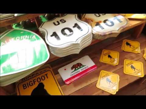 The Legend of Bigfoot Store Garberville,CA