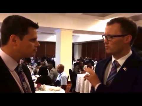 ABMA Speaks to British Deputy High Commissioner to Zambia Andrew Hamilton