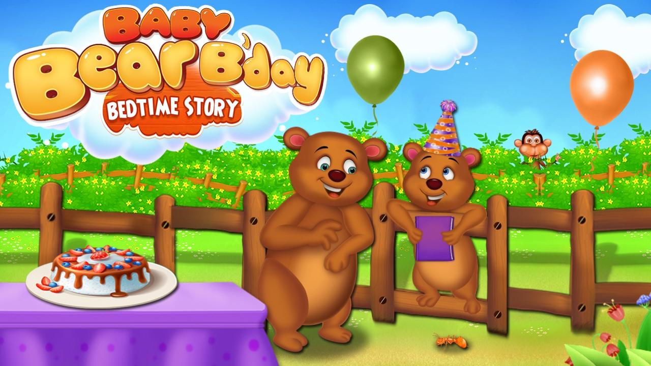 Uncategorized Baby Bear Story baby bear bday bedtime story birthday games by gameiva gameiva