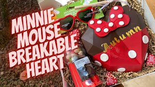 Minnie Mouse Breakable Chocolate Heart Tutorial