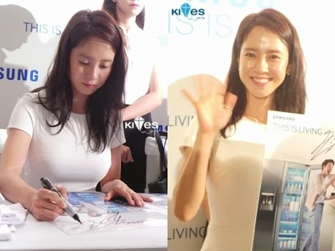 """Song Ji Hyo event at Hochiminh City, Vietnam """"Samsung - This is Living"""""""