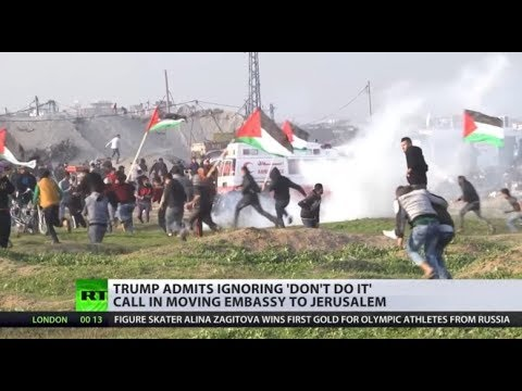 'US spits in faces of Palestinians': Embassy to be moved to Jerusalem sooner than planned